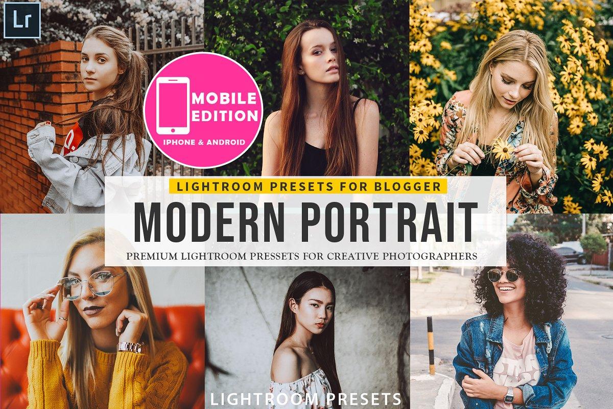 Modern Portait Presets Lightroom ~ Lightroom Presets
