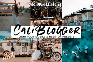 Cali Blogger Lightroom Presets