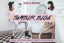 Tumblr Blog Mobile Presets by  in Add-Ons