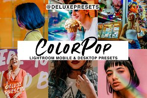 Color Pop Lightroom Presets