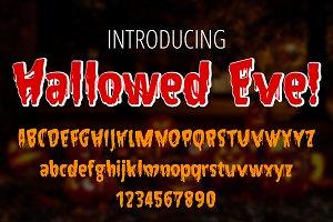 Hallowed Eve Font