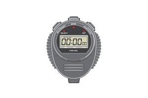 Retro Digital Stopwatch