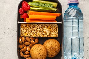 Healthy meal prep container