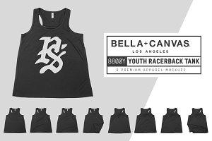 Bella Canvas 8800Y Youth Racerback