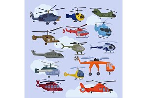 Helicopter vector copter aircraft