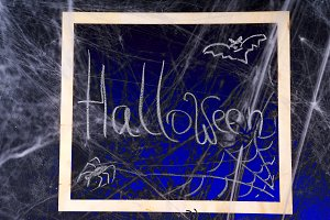 halloween, decoration and horror