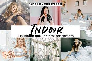 Indoor Lightroom Presets