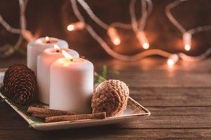 Winter festive decoration
