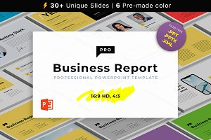 Business Report PRO PowerPoint