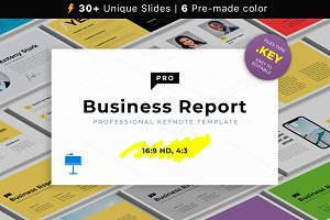 Business Report PRO Keynote Template
