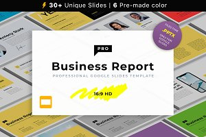 Business Report PRO Google Slides