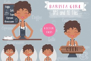 Coffee Shop Owner Set