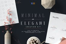Minimal and Elegant Creation Kit by  in Logos