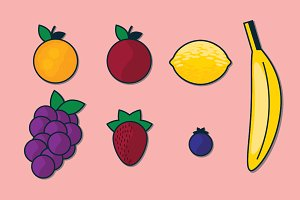 Graphic: Fruit Vector Illustrations