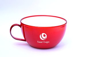 Red Cup Logo MockUp