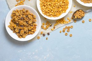 Different Kinds of Cereals, Quick Br