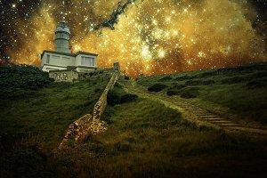 Lighthouse & Small Magellanic Cloud