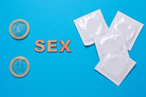 Condom and word sex