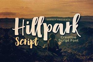 Hillpark Script Font
