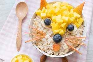 Cute And Funny Breakfast For Kids!