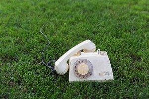 Old retro phone