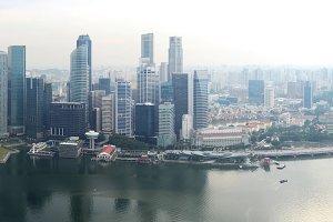 City panorama. Singapore