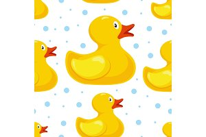 rubber duck pattern. bath children