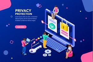 Data Protection Banner for Website