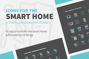 Icons 4 the Smart Home-Doors, Wind…