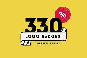 330 Logos Bundle - 88% off