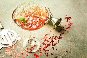 Fresh margarita cocktail