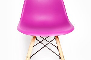 Pink modern chair