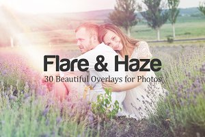 Flare & Haze: 30 Overlays for Photos