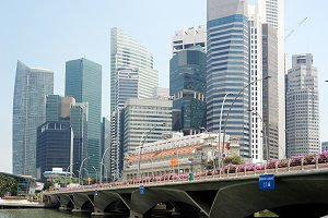 Singapore Skyline in daytime