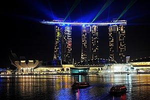 Marina Bay Sands resort. Singapore