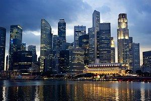 Business centre of Singapore