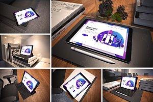 Business iPad Pro Mockup