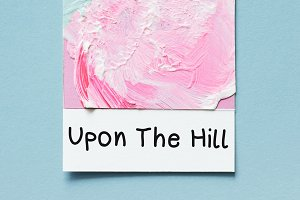 Upon The Hill - A Handwritten Font
