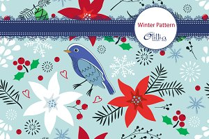 Winter pattern