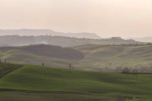 Green hills of Tuscany