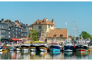 Traditional houses in the harbour of