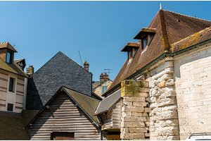 Traditional houses in Honfleur