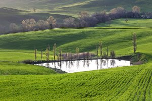 Tuscany in early spring