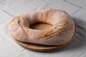 Galician bread.