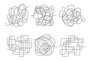 Chaos lines set