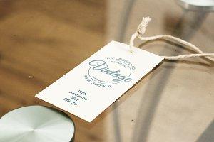 Product Label Mockup