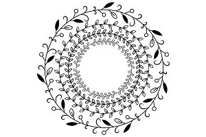 Circular Ornaments Illustration