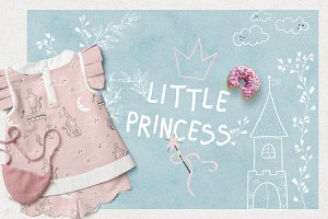 Princess♡ Illustrations & Patterns