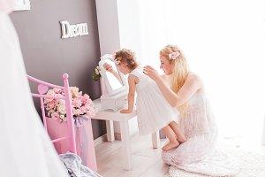 Sense of beauty in women in the room