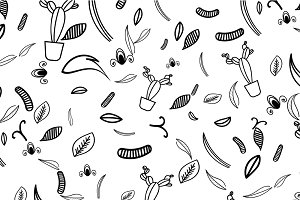 Botany Pattern Illustration